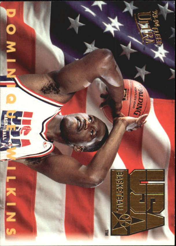1993-94 Ultra #371 Dominique Wilkins USA