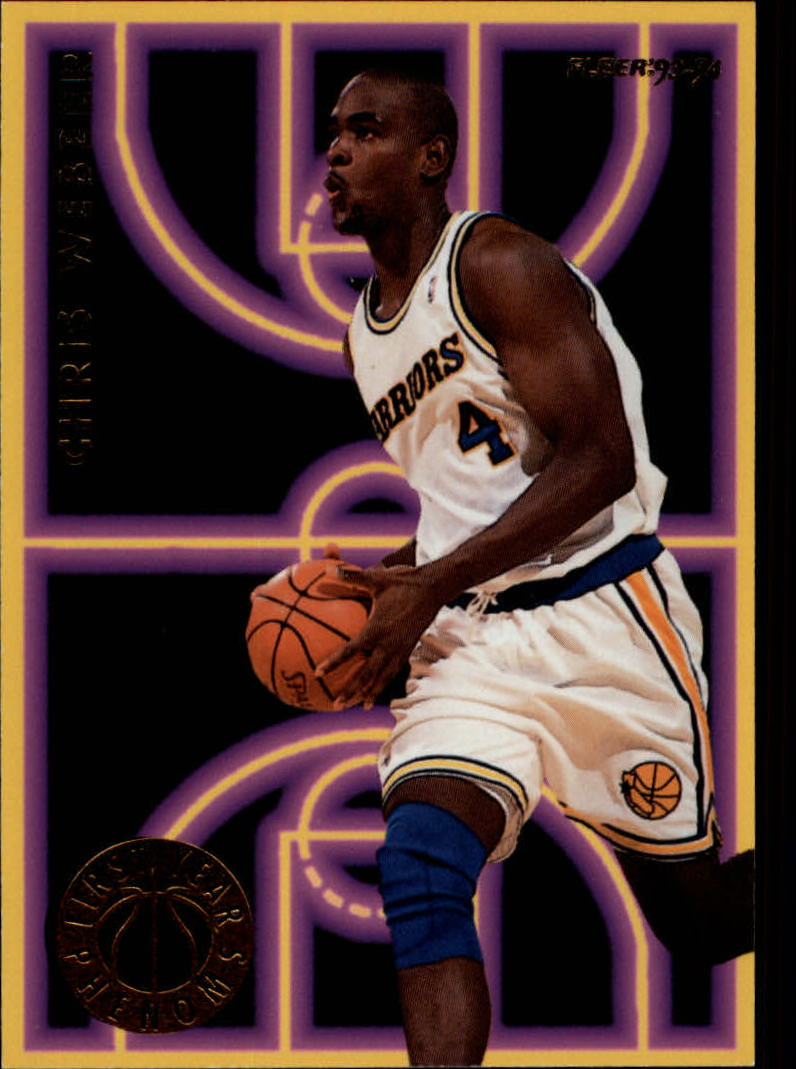 1993-94 Fleer First Year Phenoms #10 Chris Webber
