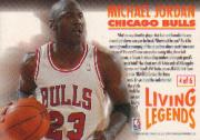 1993-94 Fleer Living Legends #4 Michael Jordan back image
