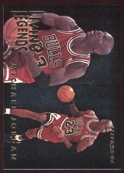 1993-94 Fleer Living Legends #4 Michael Jordan front image