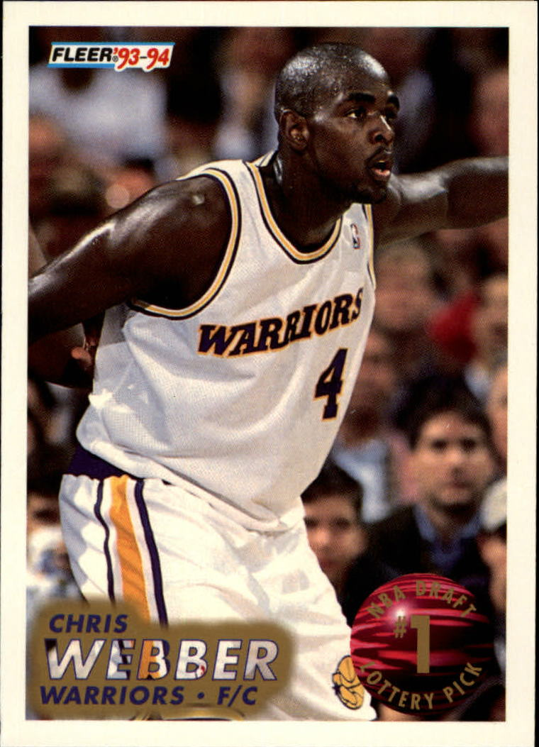 1993-94 Fleer Lottery Exchange #1 Chris Webber