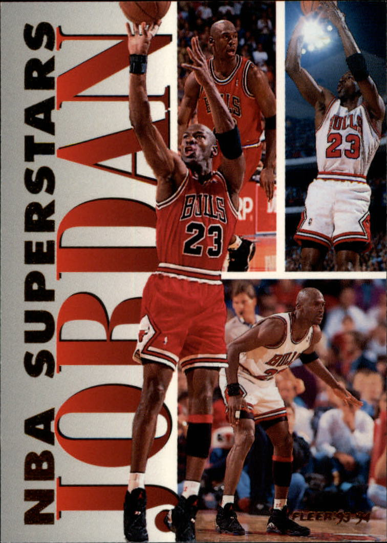 1993-94 Fleer NBA Superstars #7 Michael Jordan