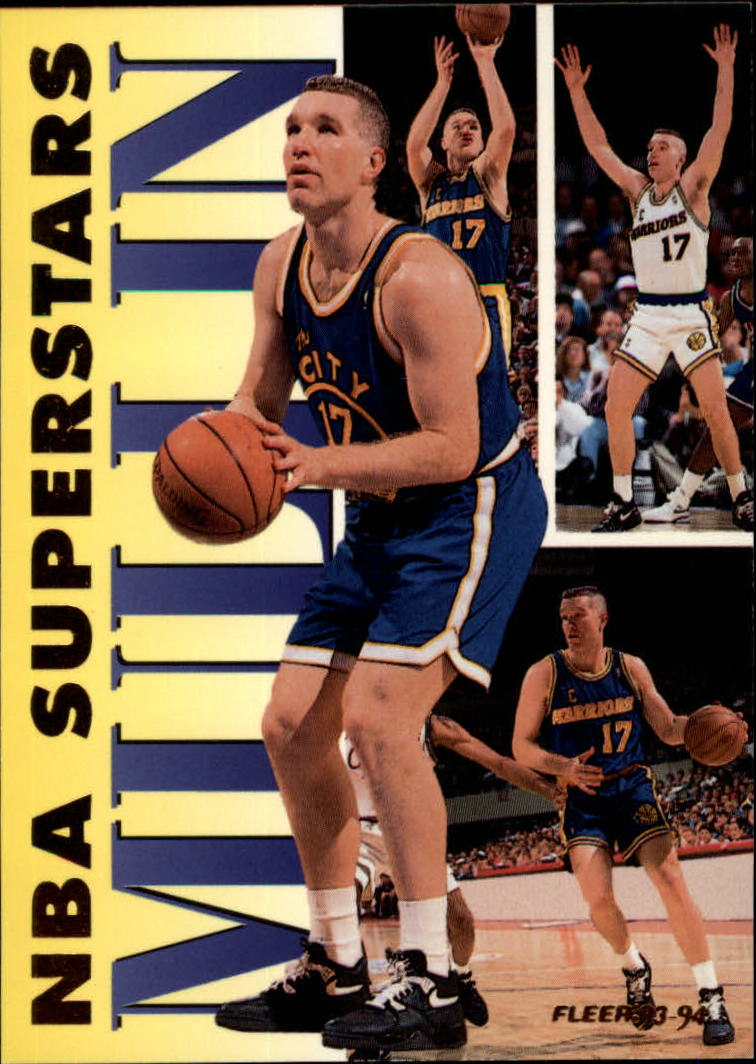 1993-94 Fleer NBA Superstars #14 Chris Mullin