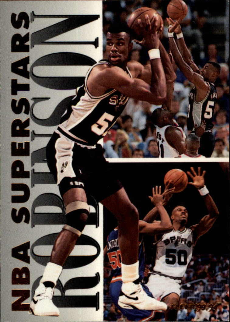 1993-94 Fleer NBA Superstars #19 David Robinson
