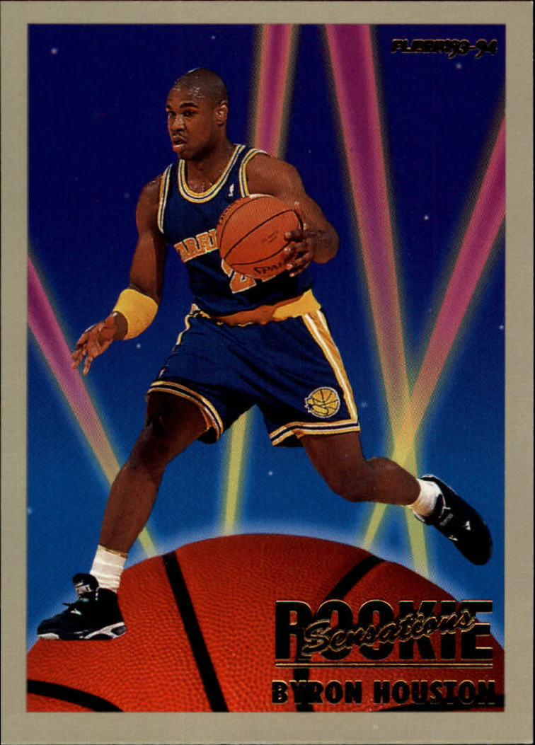 1993-94 Fleer Rookie Sensations #10 Byron Houston