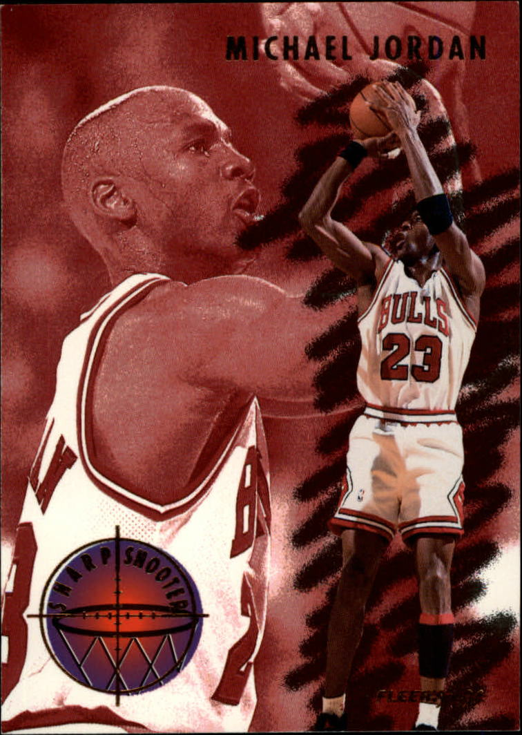1993-94 Fleer Sharpshooters #3 Michael Jordan