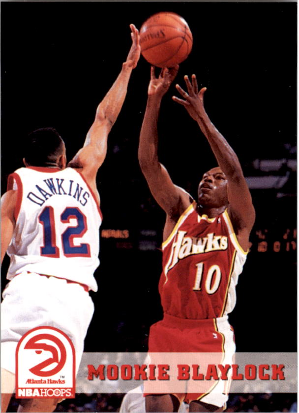 1993-94 Hoops #2 Mookie Blaylock