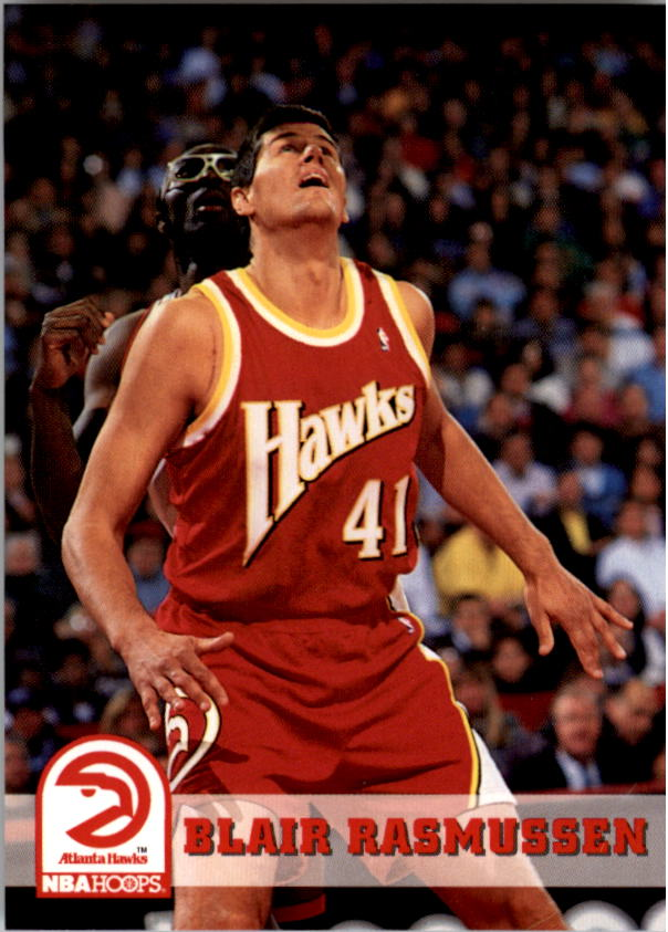 1993-94 Hoops #6 Blair Rasmussen
