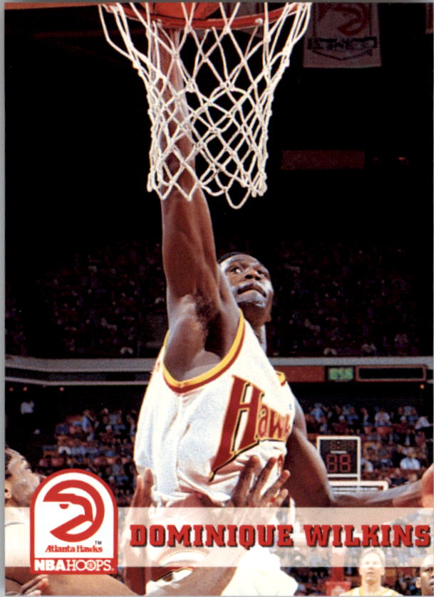 1993-94 Hoops #7 Dominique Wilkins