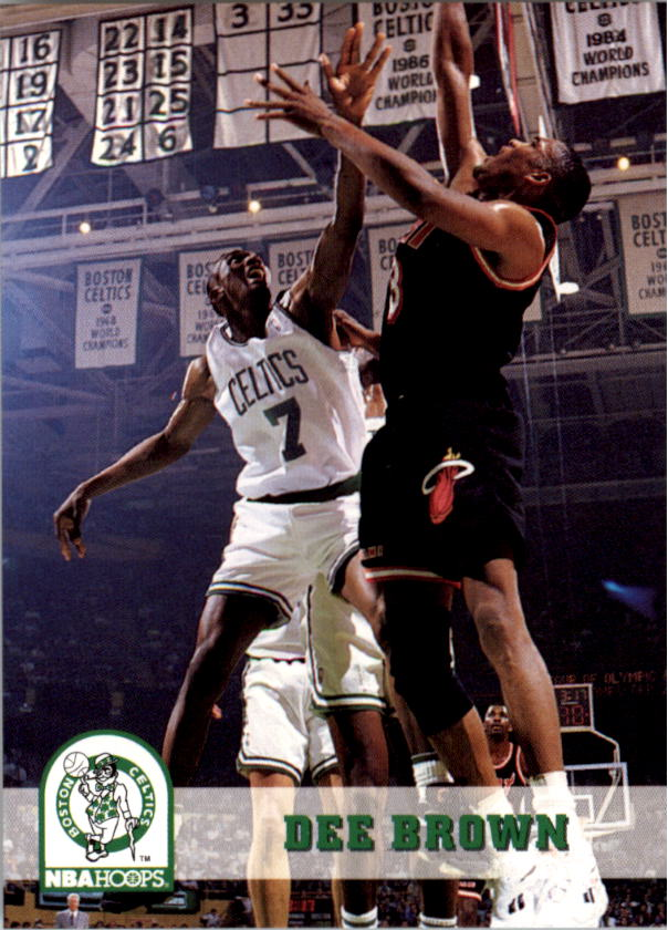 1993-94 Hoops #10 Dee Brown