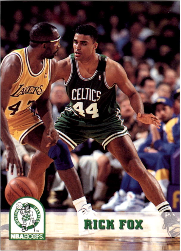 1993-94 Hoops #12 Rick Fox