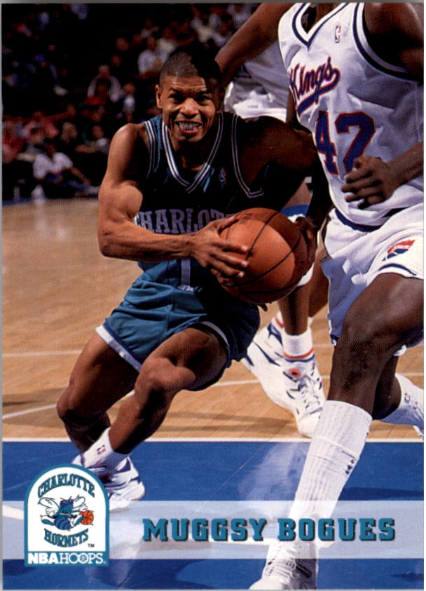 1993-94 Hoops #18 Muggsy Bogues