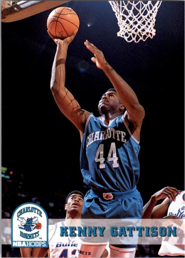 1993-94 Hoops #20 Kenny Gattison