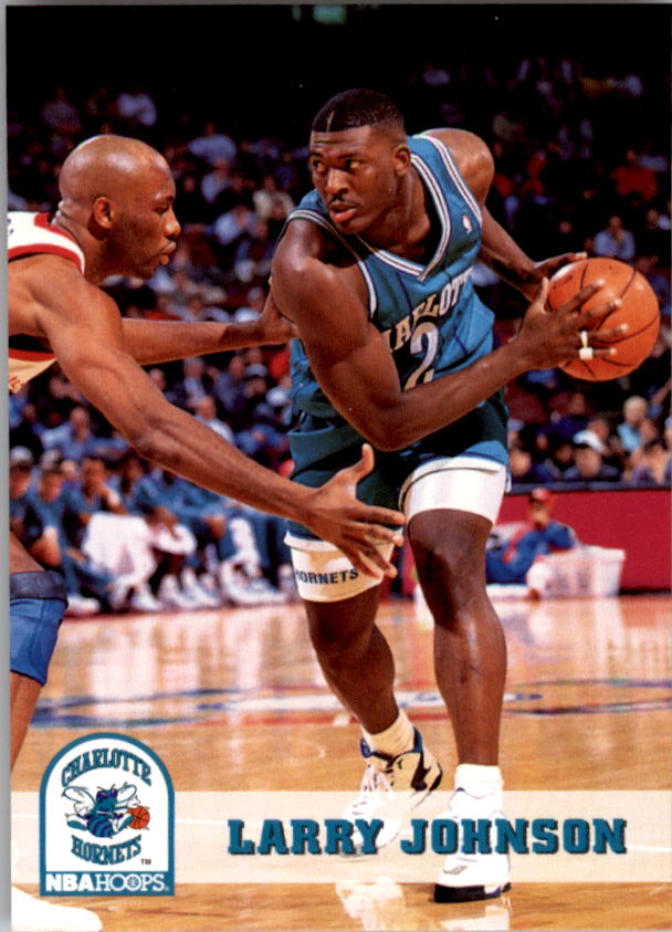 1993-94 Hoops #22 Larry Johnson