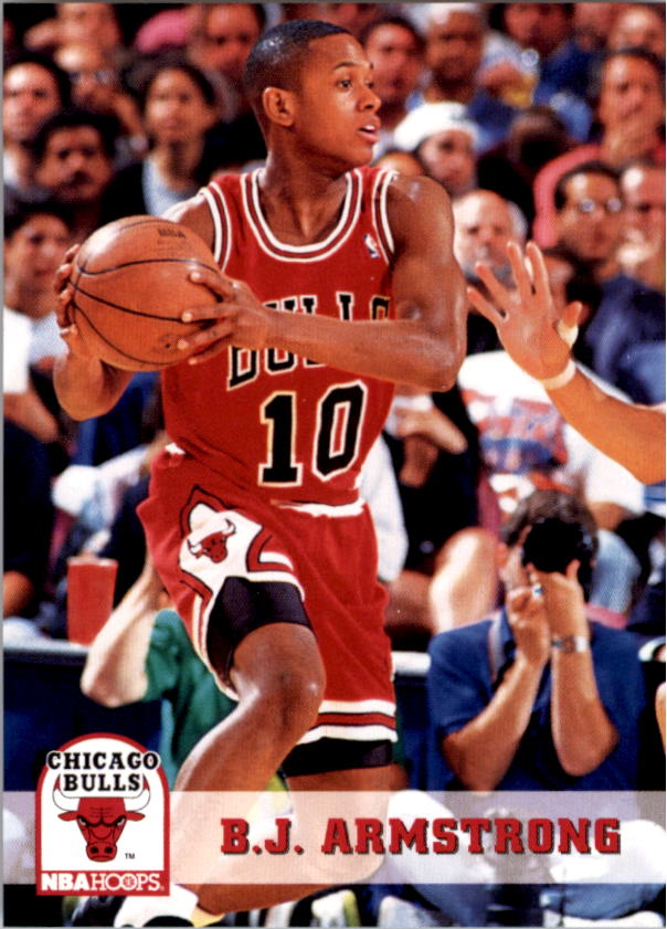 1993-94 Hoops #25 B.J. Armstrong