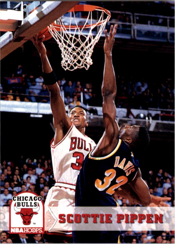 1993-94 Hoops #32 Scottie Pippen