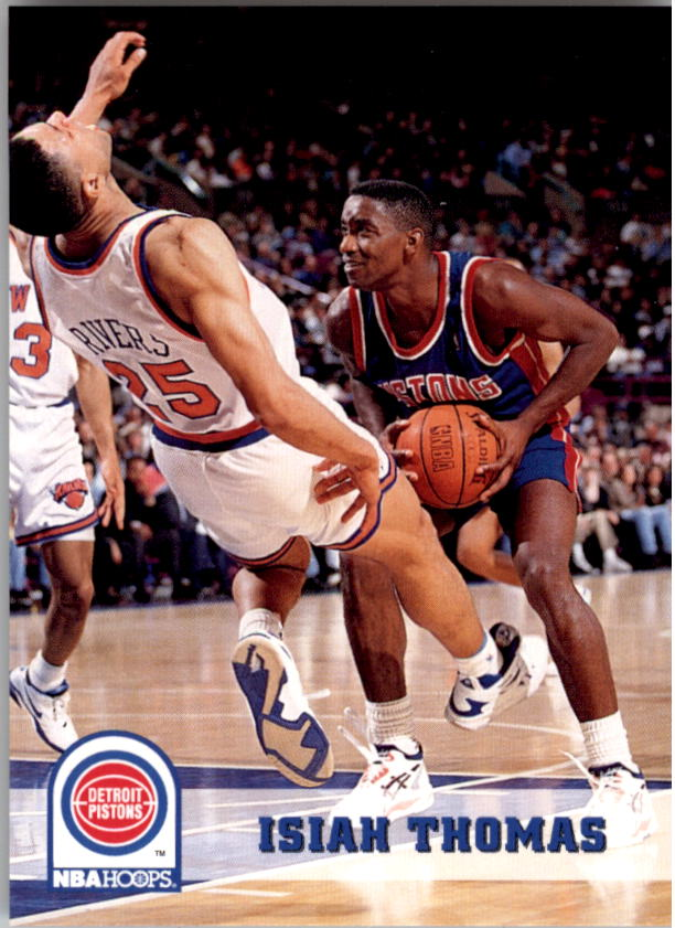 1993-94 Hoops #67 Isiah Thomas