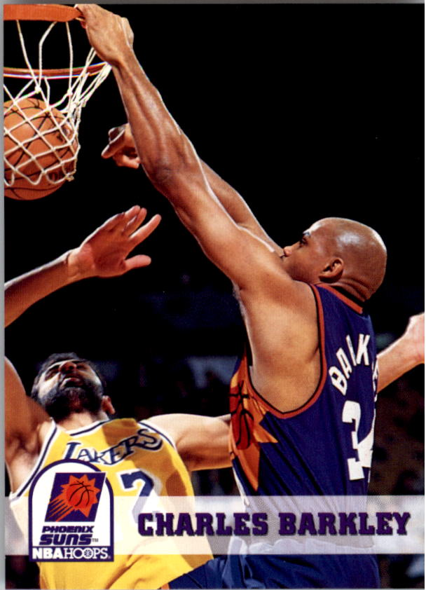 1993-94 Hoops #169 Charles Barkley