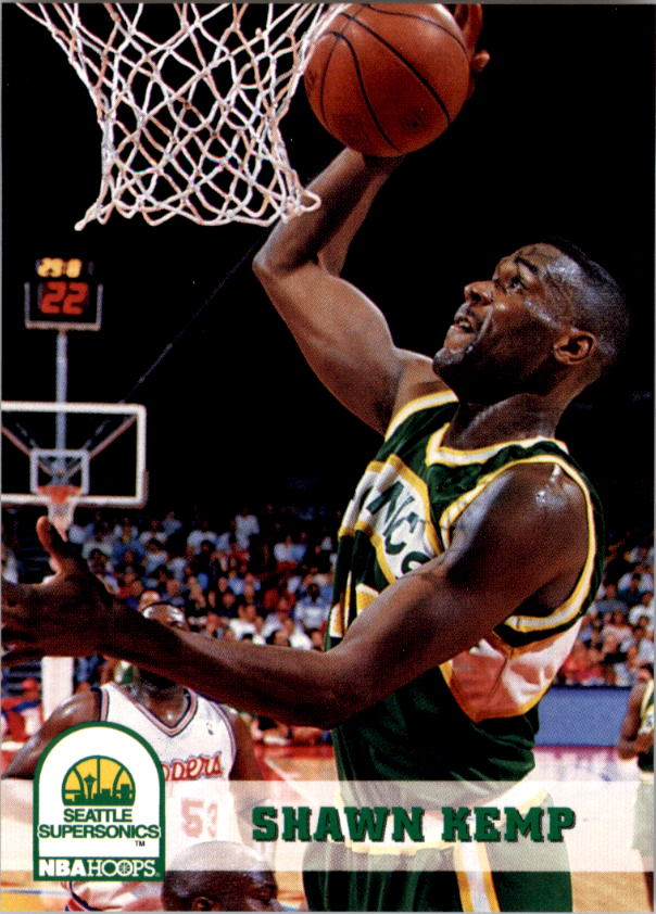 1993-94 Hoops #207 Shawn Kemp