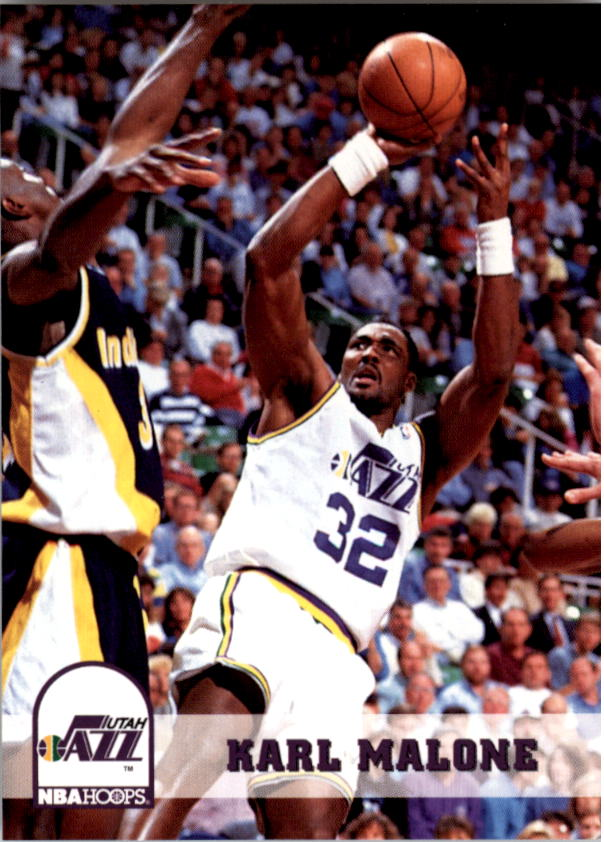 1993-94 Hoops #218 Karl Malone