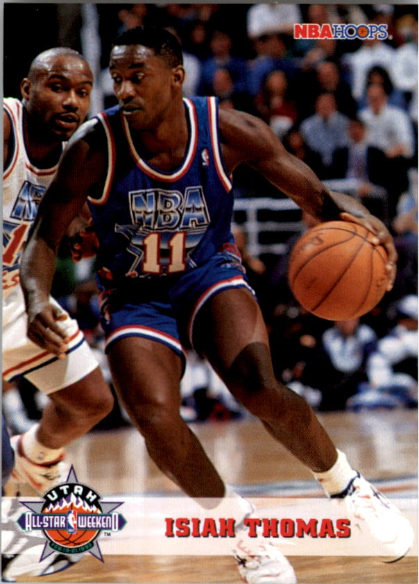 1993-94 Hoops #258 Isiah Thomas AS