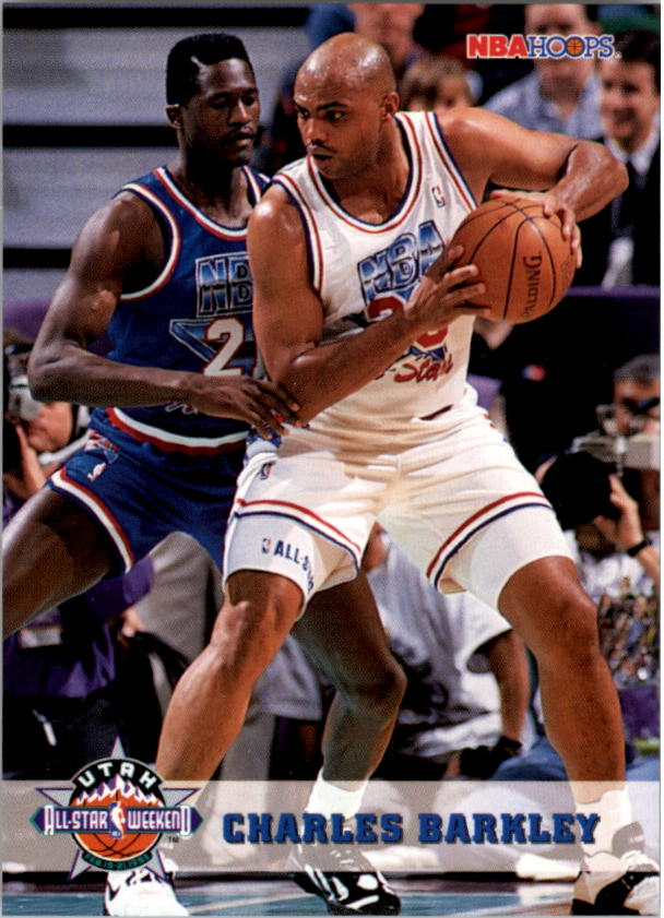 1993-94 Hoops #269 Charles Barkley AS