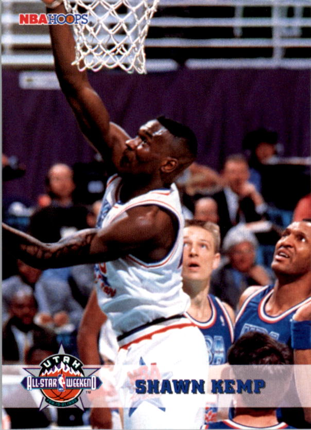 1993-94 Hoops #273 Shawn Kemp AS