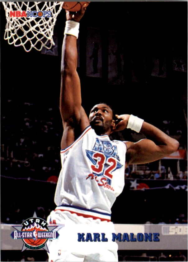 1993-94 Hoops #275 Karl Malone AS