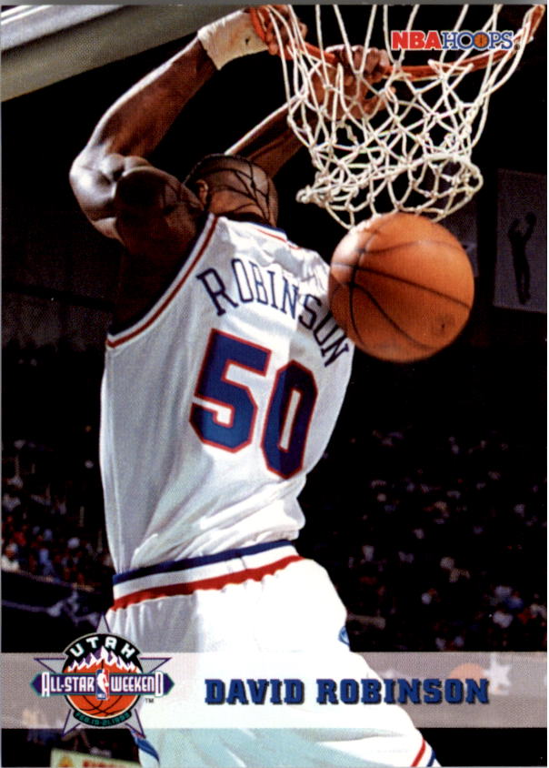 1993-94 Hoops #279 David Robinson AS