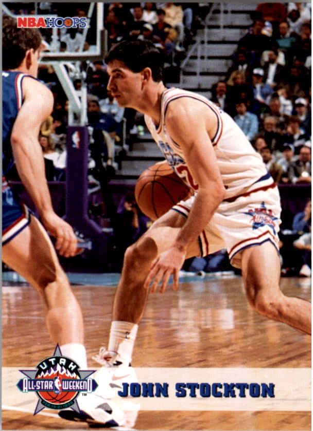 1993-94 Hoops #280 John Stockton AS
