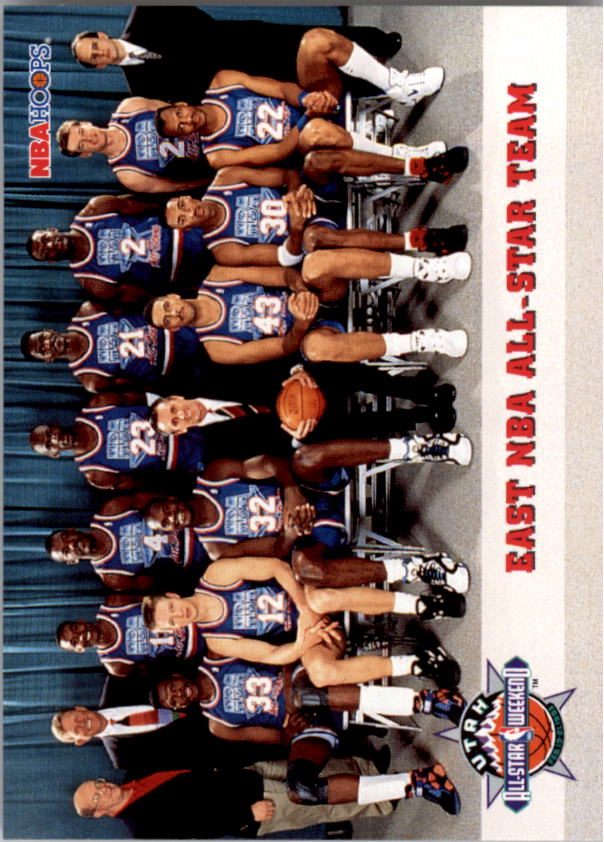 1993-94 Hoops #281 East Team Photo