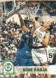1993-94 Hoops #306 Dino Radja RC