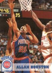 1993-94 Hoops #332 Allan Houston RC