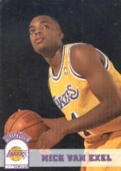 1993-94 Hoops #356 Nick Van Exel RC
