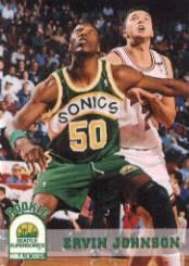 1993-94 Hoops #409 Ervin Johnson RC