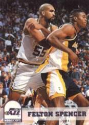 1993-94 Hoops #414 Felton Spencer