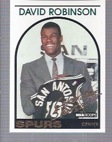1993-94 Hoops #DR1 David Robinson/Commemorative 1989/Rookie Card