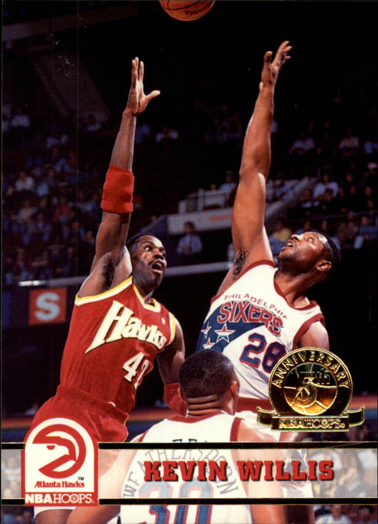 1993-94 Hoops Fifth Anniversary Gold #8 Kevin Willis