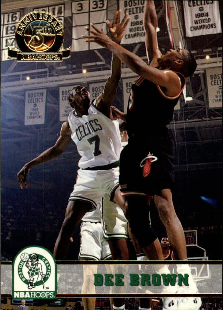 1993-94 Hoops Fifth Anniversary Gold #10 Dee Brown