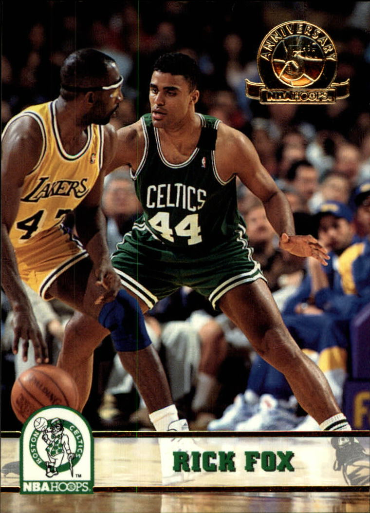 1993-94 Hoops Fifth Anniversary Gold #12 Rick Fox