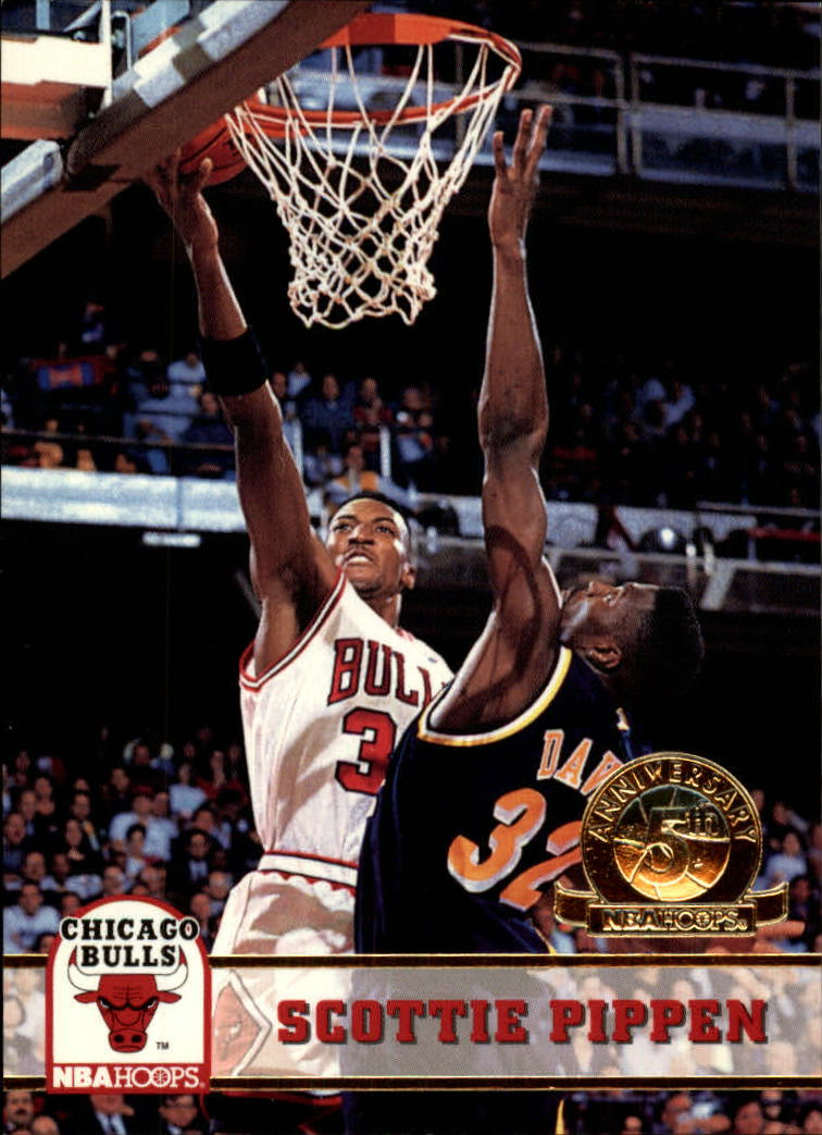 1993-94 Hoops Fifth Anniversary Gold #32 Scottie Pippen