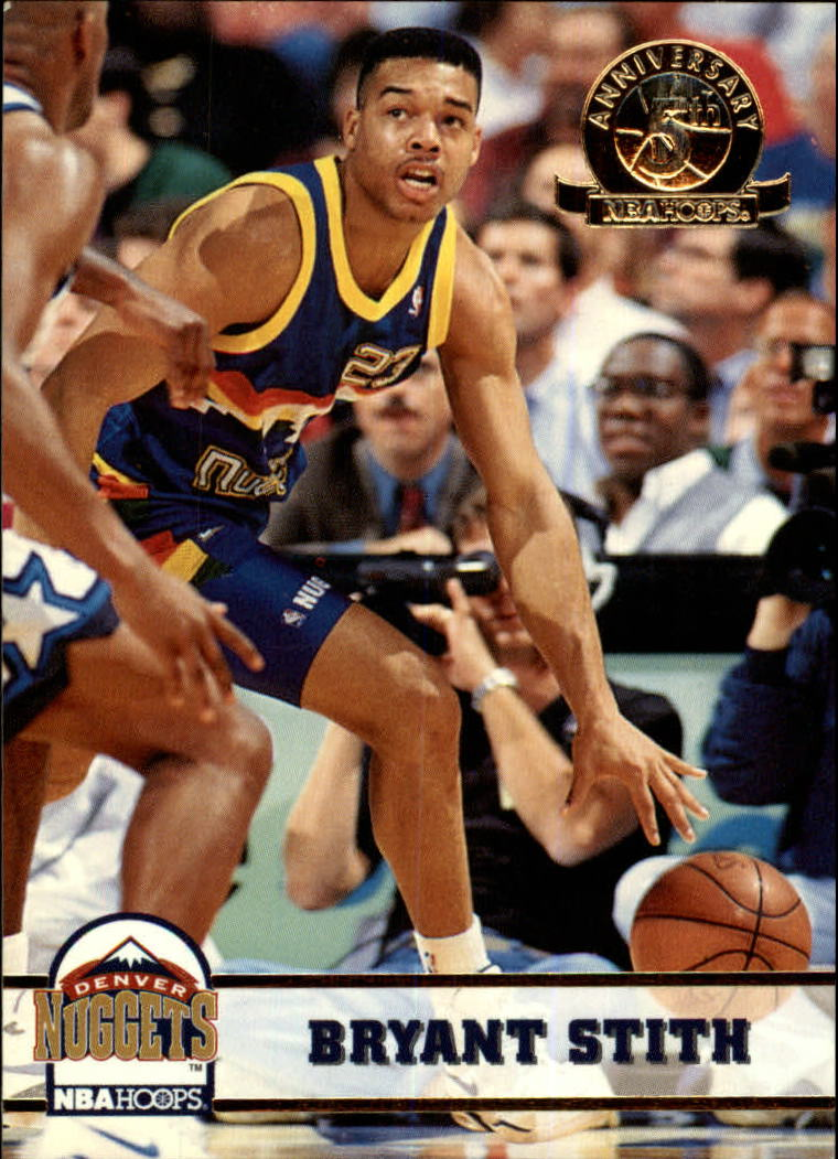 1993-94 Hoops Fifth Anniversary Gold #58 Bryant Stith