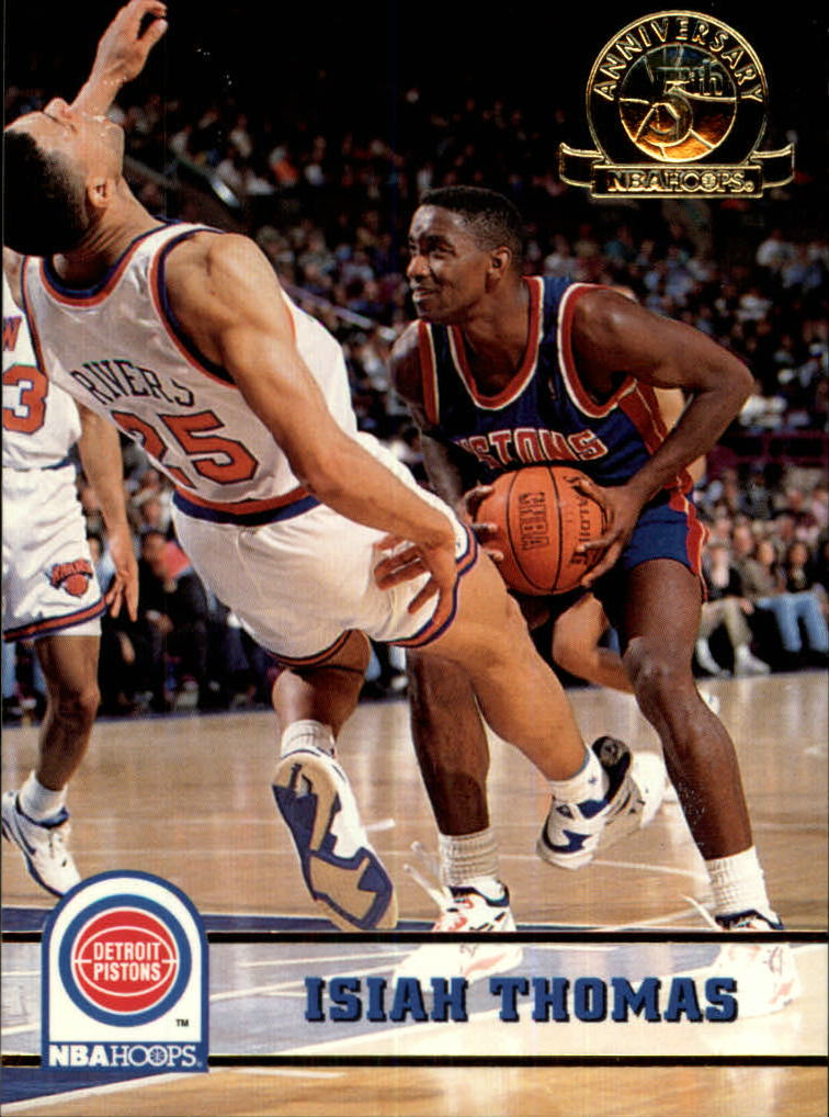1993-94 Hoops Fifth Anniversary Gold #67 Isiah Thomas
