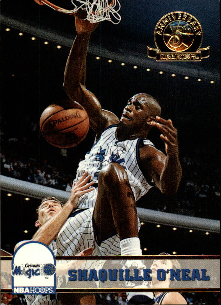 1993-94 Hoops Fifth Anniversary Gold #155 Shaquille O'Neal