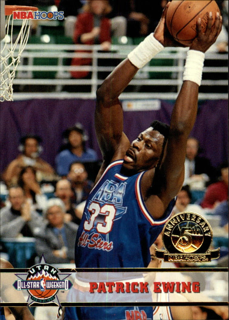 1993-94 Hoops Fifth Anniversary Gold #265 Patrick Ewing AS front image