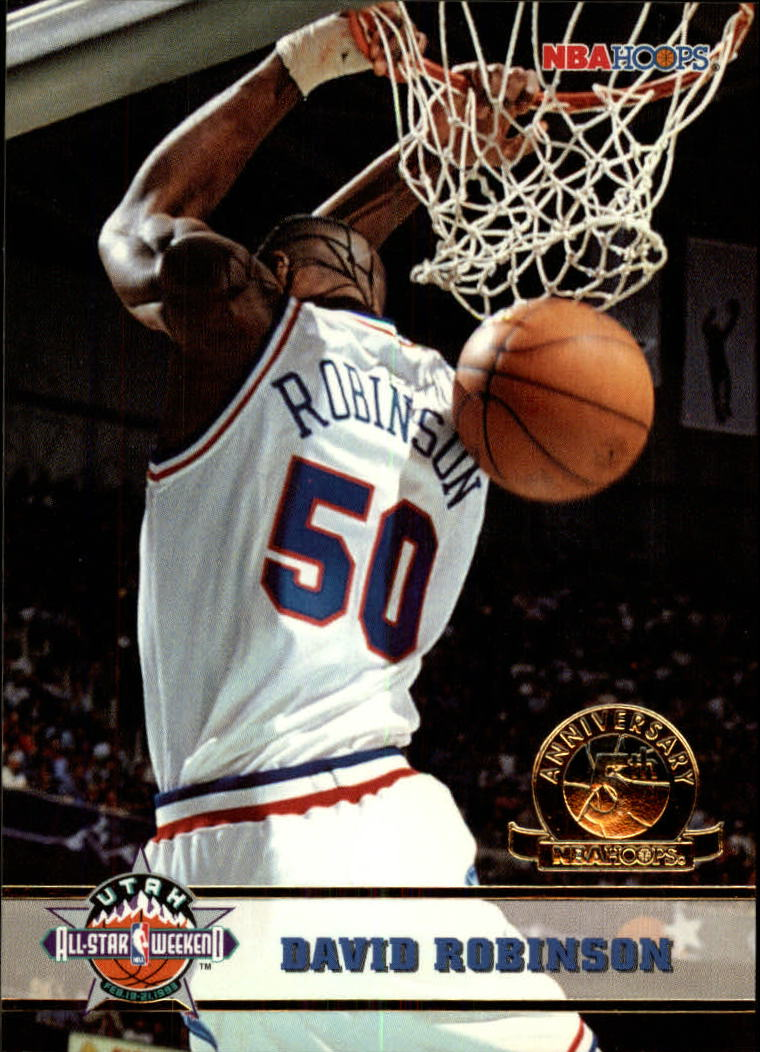1993-94 Hoops Fifth Anniversary Gold #279 David Robinson AS