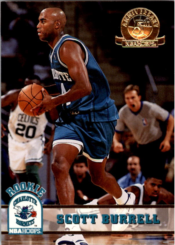1993-94 Hoops Fifth Anniversary Gold #307 Scott Burrell