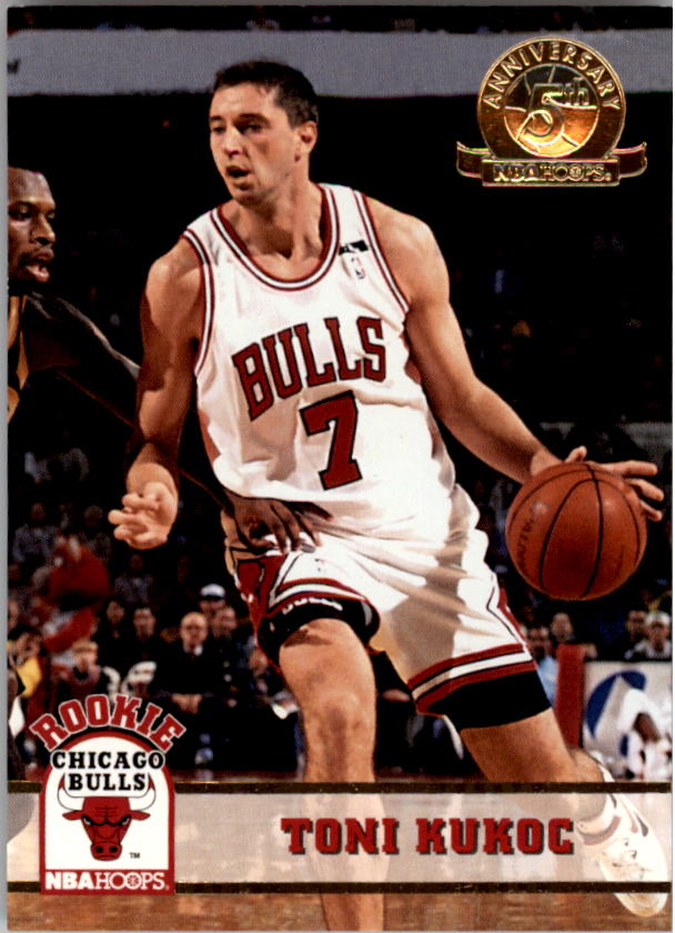 1993-94 Hoops Fifth Anniversary Gold #313 Toni Kukoc