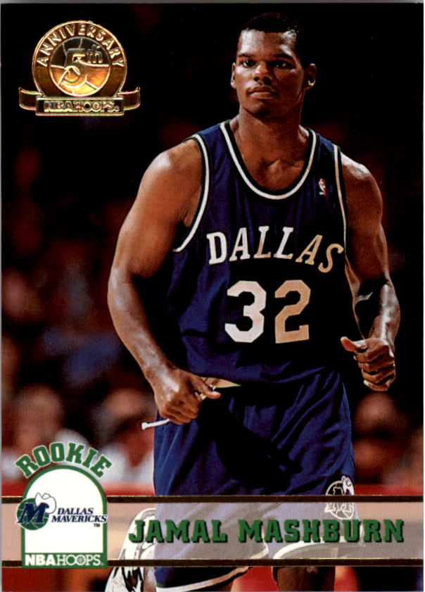 1993-94 Hoops Fifth Anniversary Gold #323 Jamal Mashburn