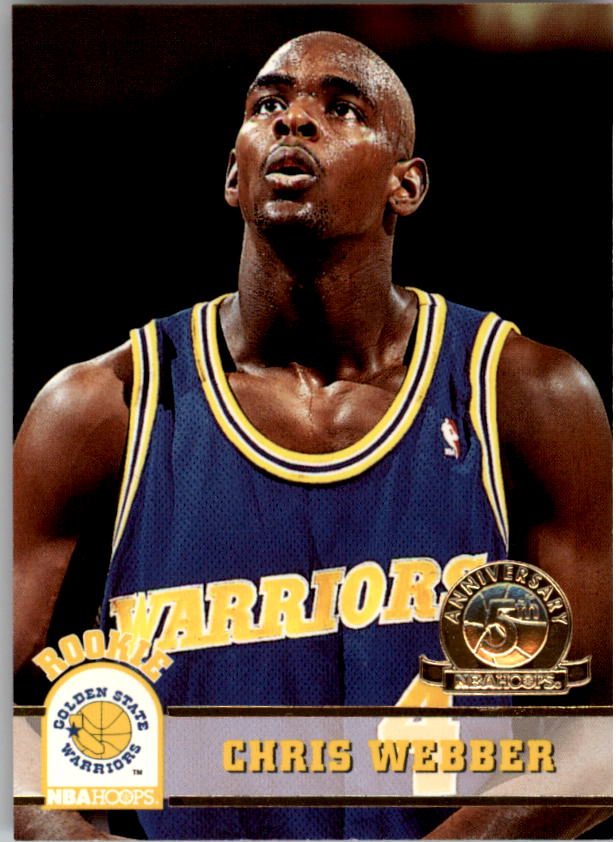1993-94 Hoops Fifth Anniversary Gold #341 Chris Webber